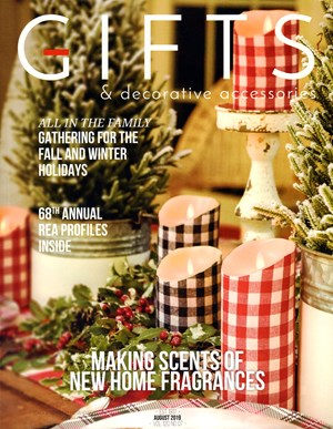 Gifts And Decorative Accessories Magazine | 8/2019 Cover