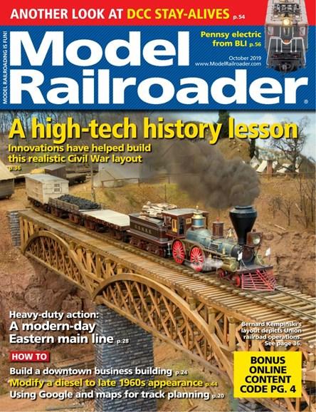 Model Railroader Cover - 10/1/2019