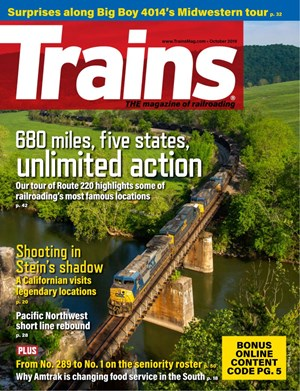 Trains Magazine | 10/2019 Cover