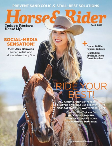 Horse & Rider Cover - 9/1/2019
