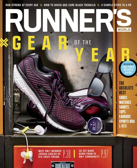 Runner's World Cover - 9/1/2019