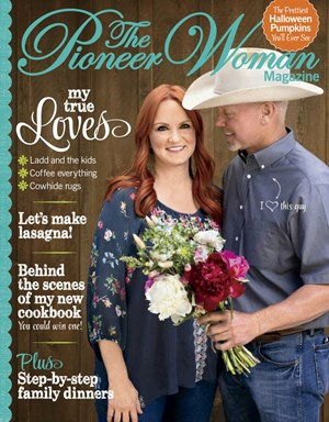 The Pioneer Woman | 9/2019 Cover