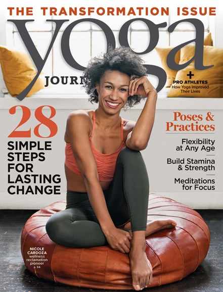 Yoga Journal Cover - 9/1/2019