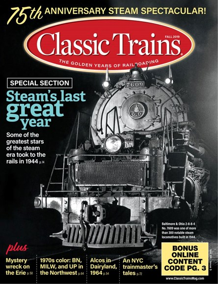 Classic Trains Cover - 9/1/2019