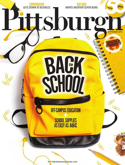 Pittsburgh Magazine Cover - 9/1/2019