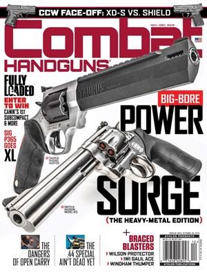 Combat Handguns Magazine | 11/2019 Cover