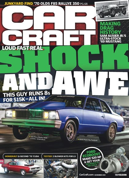 Car Craft Cover - 11/1/2019