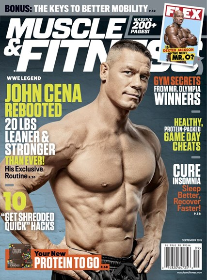 Muscle & Fitness Cover - 9/1/2019