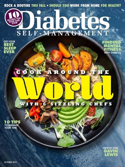 Diabetes Self-Management Cover - 9/1/2019