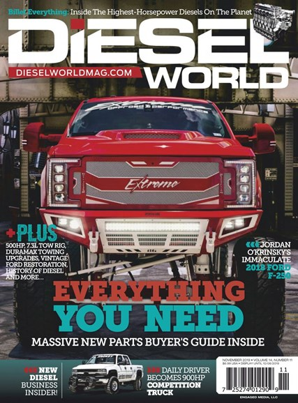 Diesel World Cover - 11/1/2019