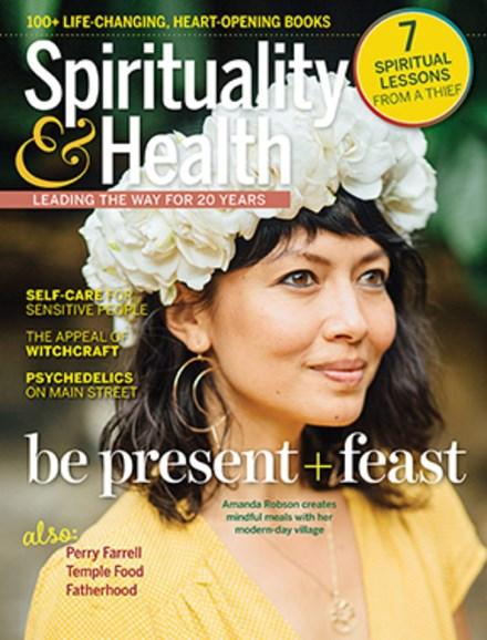 Spirituality & Health Cover - 9/1/2019