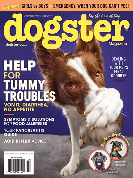 Dogster Cover - 10/1/2019