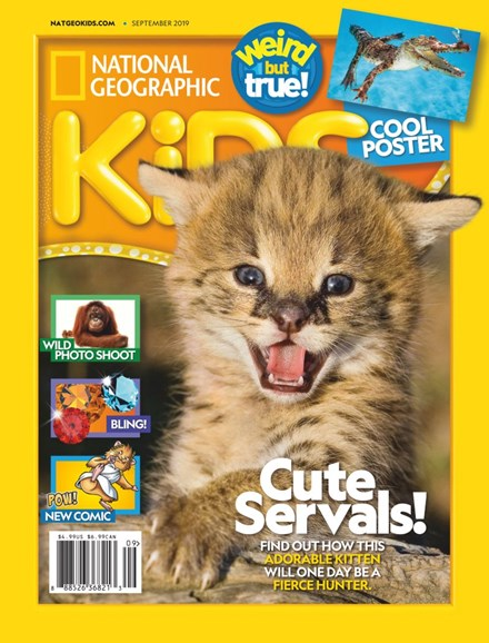 National Geographic Kids Cover - 9/1/2019