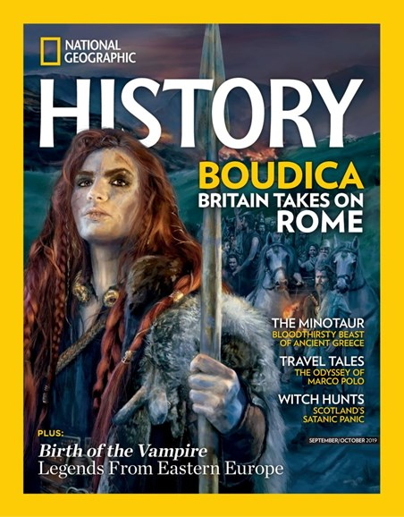 National Geographic History Cover - 9/1/2019