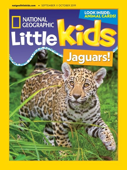 National Geographic Little Kids Cover - 9/1/2019