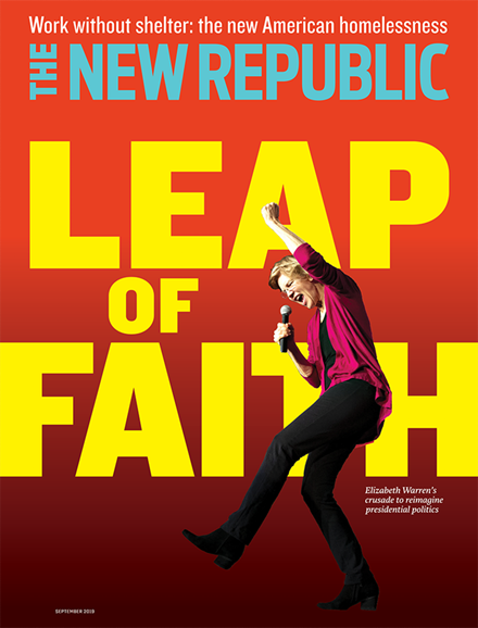 The New Republic Cover - 9/1/2019