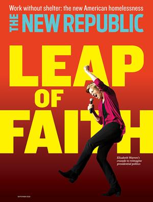 The New Republic Magazine | 9/2019 Cover