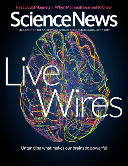 Science News Cover - 8/17/2019