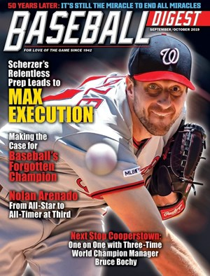 Baseball Digest Magazine | 9/2019 Cover