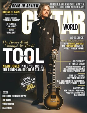 Guitar World (non-disc) Magazine | 10/2019 Cover