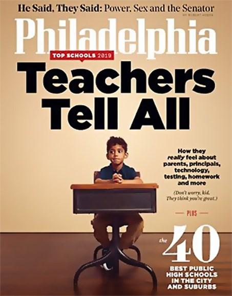 Philadelphia Magazine Cover - 9/1/2019