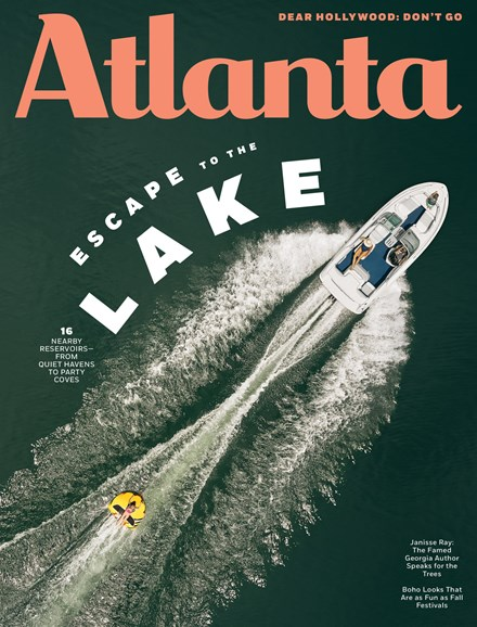Atlanta Magazine Cover - 8/1/2019