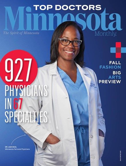 Minnesota Monthly Cover - 9/1/2019
