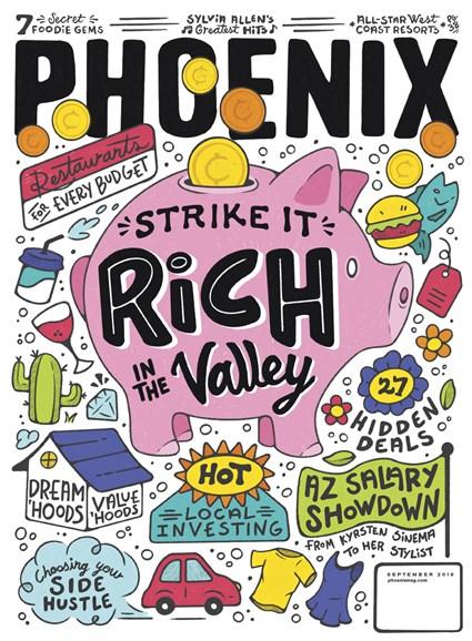 Phoenix Magazine Cover - 9/1/2019