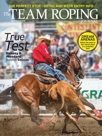 The Team Roping Journal Cover - 9/1/2019