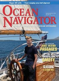 Ocean Navigator Magazine   9/2019 Cover