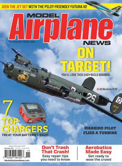 Model Airplane News Cover - 11/1/2019