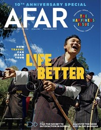 AFAR Magazine | 9/2019 Cover