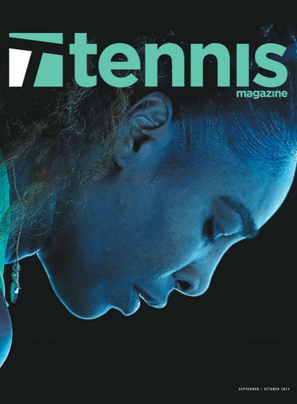 Tennis Magazine Cover - 9/1/2019