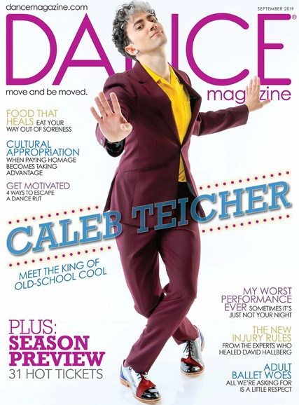 Dance Magazine Cover - 9/1/2019