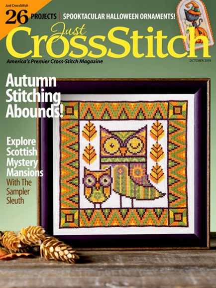 Just CrossStitch Cover - 10/1/2019