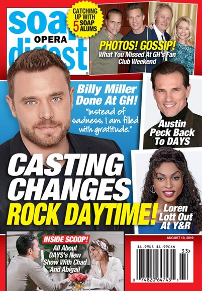 Soap Opera Digest Cover - 8/19/2019