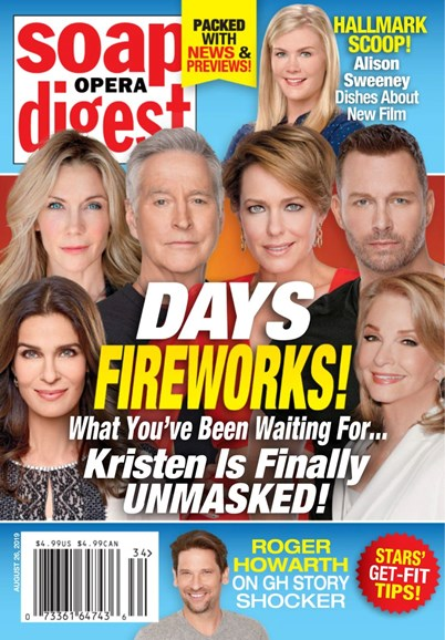Soap Opera Digest Cover - 8/26/2019