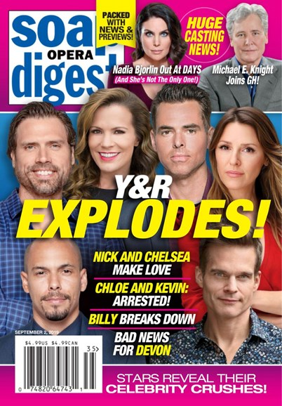 Soap Opera Digest Cover - 9/2/2019