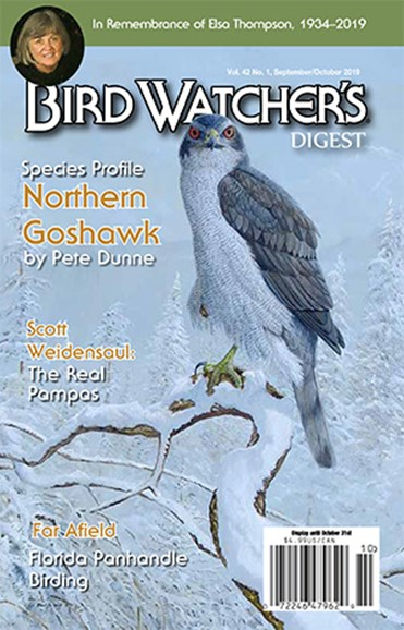 Bird Watcher's Digest Cover - 9/1/2019