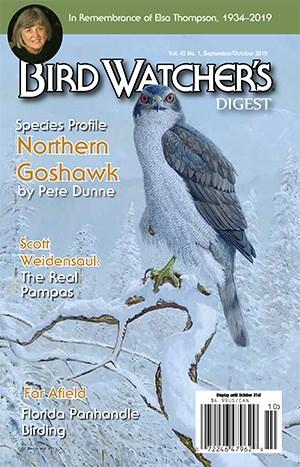 Bird Watcher's Digest Magazine | 9/2019 Cover