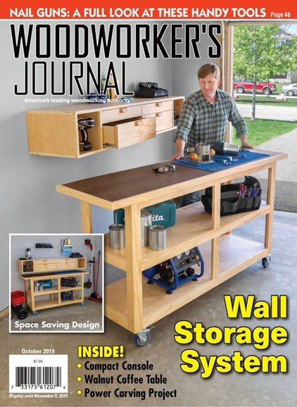 Woodworker's Journal Cover - 10/1/2019