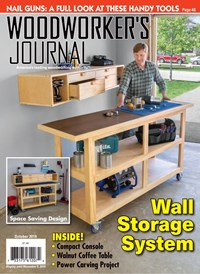 Woodworker's Journal Magazine   10/2019 Cover