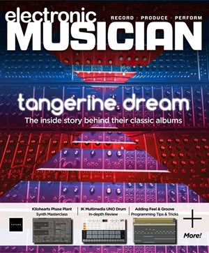 Electronic Musician   10/2019 Cover
