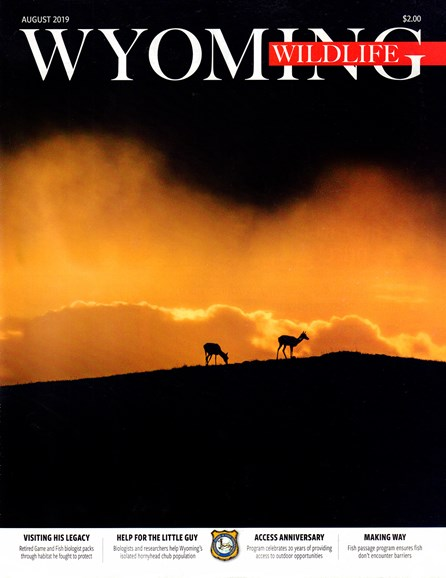 Wyoming Wildlife Cover - 8/1/2019