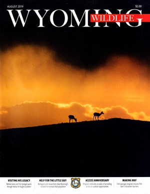 Wyoming Wildlife Magazine | 8/2019 Cover