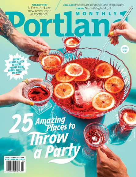 Portland Monthly Cover - 9/1/2019