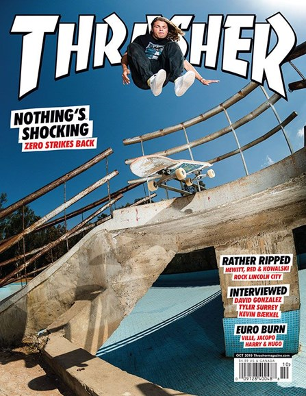 Thrasher Cover - 10/1/2019