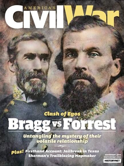 America's Civil War Cover - 11/1/2019