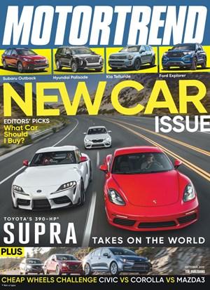 Motor Trend Magazine | 10/2019 Cover