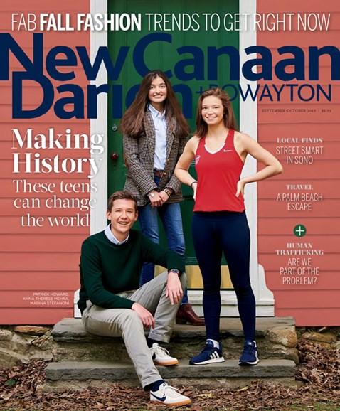 New Canaan-Darien Cover - 9/1/2019